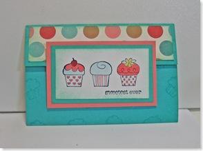 cupcake envie card