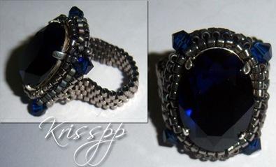 anillo felixia azul
