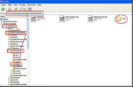 "(pasta ""C:\Arquivos de programas\Chuzzle Deluxe\Profiles"")"