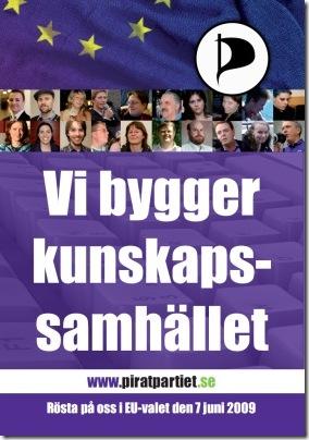 Piratpariet - Rösta på oss i EU-valet den 7 juni 2009