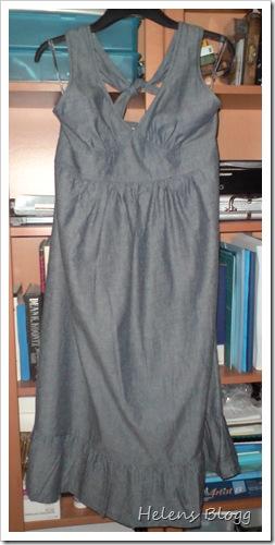 Halterneck klänning