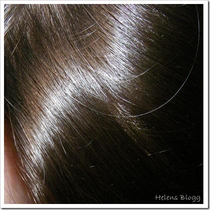 Helens nyfärgade hår