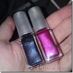 Mörk silver och rosa