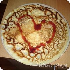 Hjärtligt god pannkaka