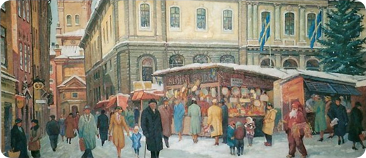 Gamla Stan, Stortorgets julmarknad