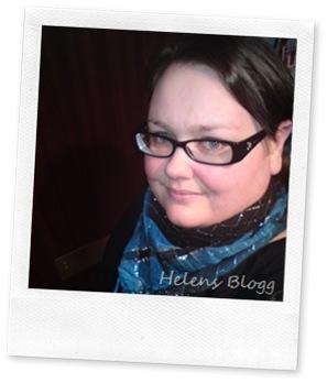 Jag i turkos-svart-silvrig sjal