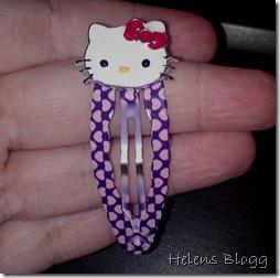 Hello Kitty hårklämmor
