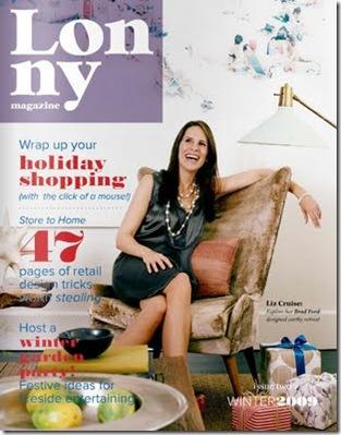 Lonny mag cover December