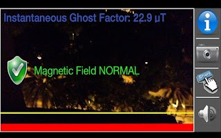 Screenshot of Ghost Detector