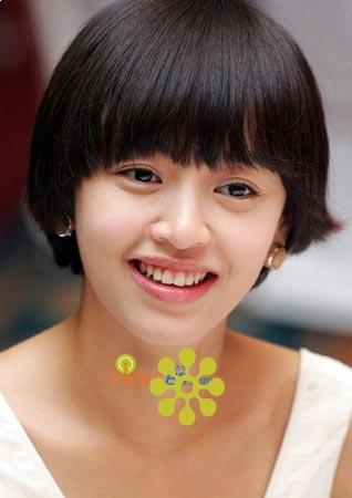 very cute short hairstyle