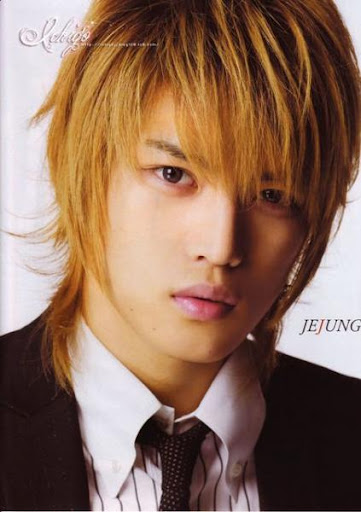 Kim Jae Joong Hairstyles brown hairstyle. To hair color, Kim Jae Joong is