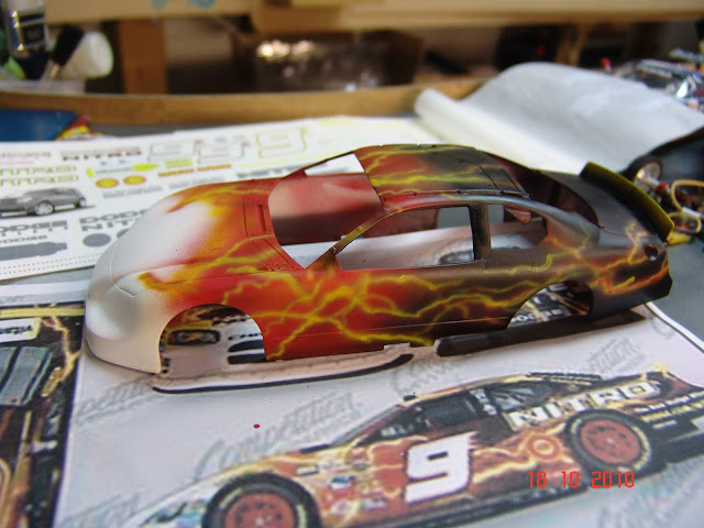 NASCAR Dodge Charger A work in progress DSC07478