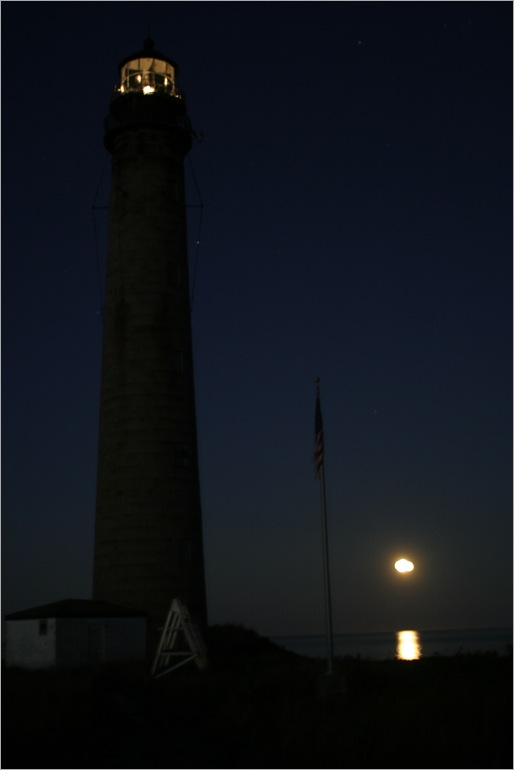 the light house at night, not too bad for handheld and a long exposure time :D