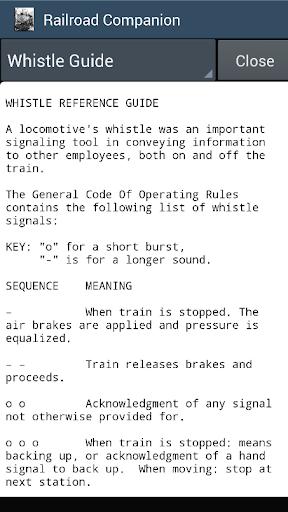Railroad Companion-Train Sound - screenshot