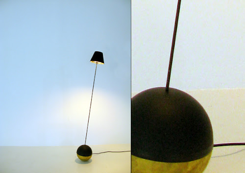 Roly-Poly Rocking Lamp, a Fun and Provoking Lighting Design