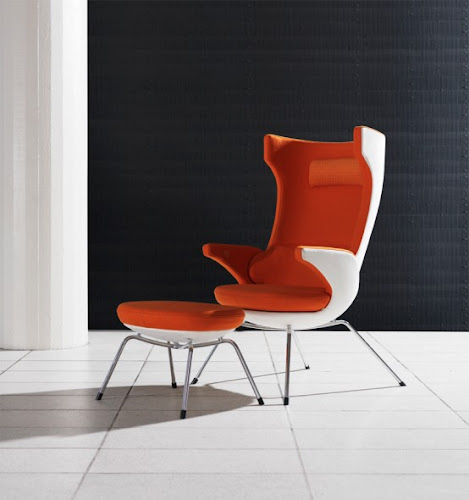 Cozy Lounge Chair by Magnus Olesen