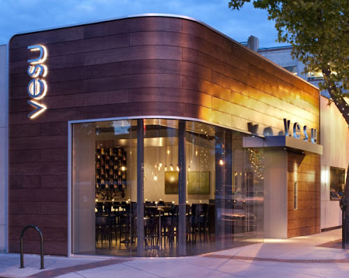 Modern Restaurant Design: Vesu in Walnut Creek, California