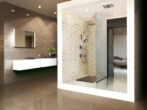 Bathroom walls and floor tiles design home staging accessories 2014 - Decorative wall tiles for bathroom ...