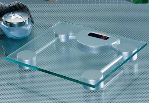 Modern Glass Bathroom Scales In Bathroom Interior Design