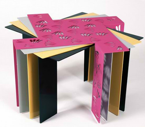 Innovative Space Saving Table Design