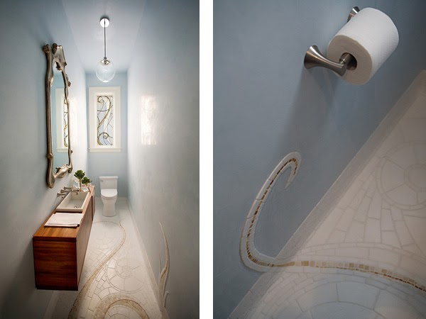 Inspirational design small bathroom inspiration by cifial usa for Toilet inspiration