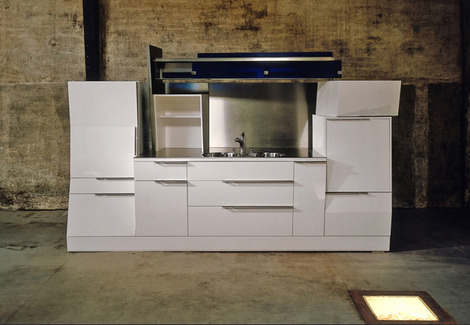 Modern Loft Kitchens from Belgium - Jo Wynant kitchen