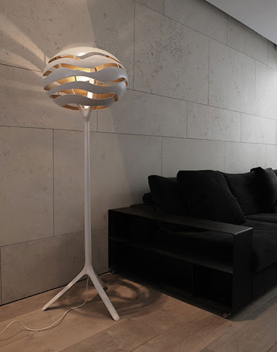 Stylish Floor Lamp with Interesting Lighting Effects