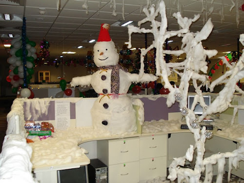 Christmas Office Decorations