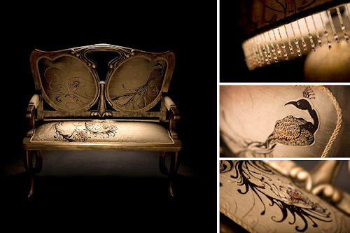 Luxury Sofa Design by Kristina Elizarova