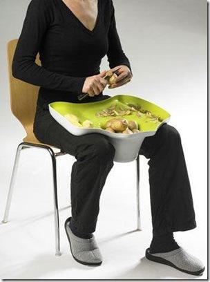 Design Mesa de cortar batata