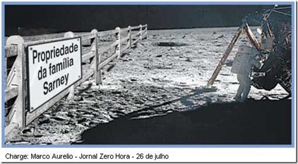 Sarney e a Lua