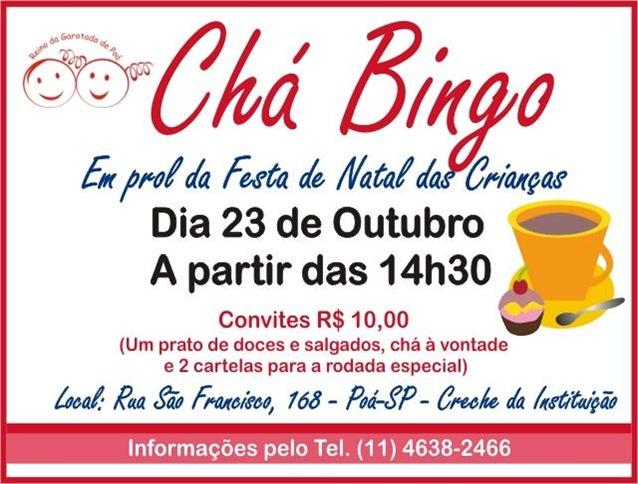 Chá Bingo - Poá