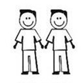 Adesivinho 7 - Família Gay