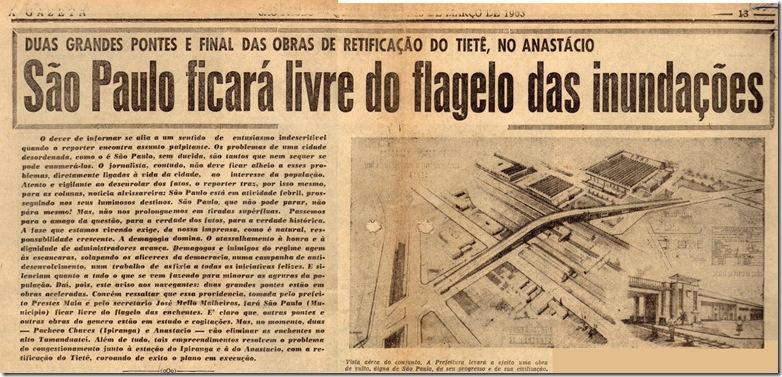 Gazeta - 30-03-63 - Inundações