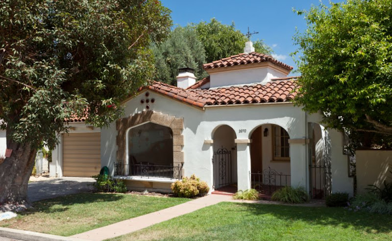 Silver lake spanish colonial to get a starring role in for Adobe home builders california
