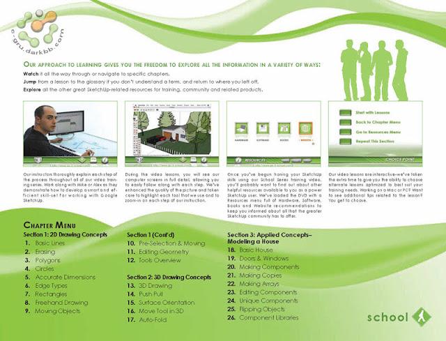 Go2School Google SketchUp Level 1 | DVD Video [อัปเดทลิงก์] Go2s1