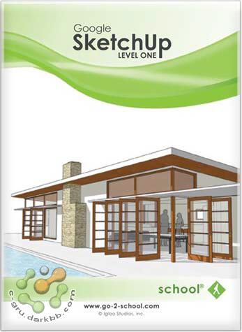 Go2School Google SketchUp Level 1 | DVD Video [อัปเดทลิงก์] Skl1