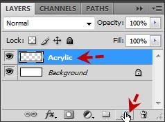 เทคนิคการสร้างตัวอักษร Acrylic [Text Effect] Acrylic14