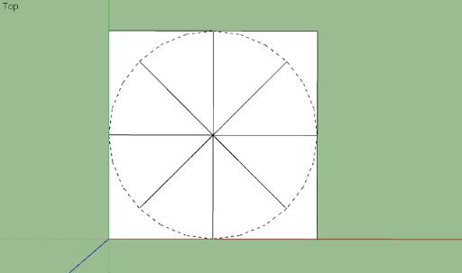 มหัศจรรย์รูปสี่เหลี่ยมกับ SketchUp Sq-09