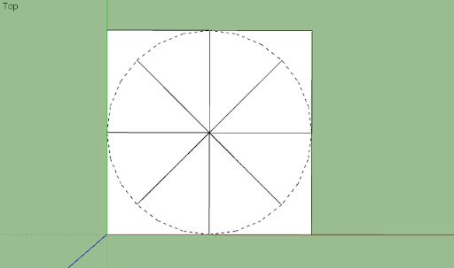 SketchUp - มหัศจรรย์รูปสี่เหลี่ยมกับ SketchUp Sq-09