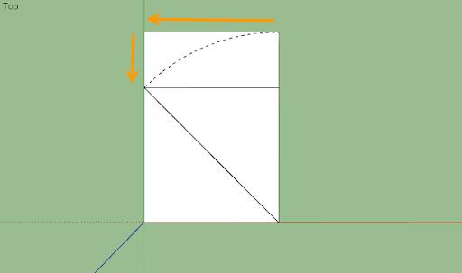 SketchUp - มหัศจรรย์รูปสี่เหลี่ยมกับ SketchUp Sq-12