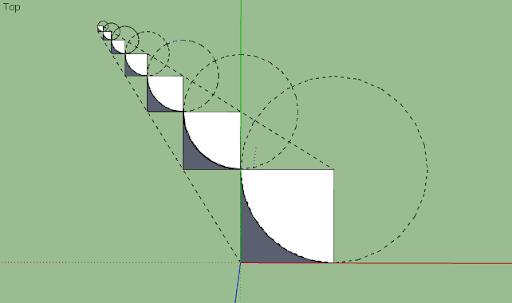 มหัศจรรย์รูปสี่เหลี่ยมกับ SketchUp Sq-28