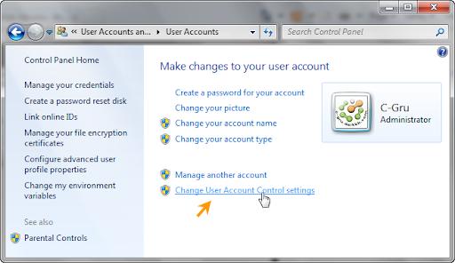การกำหนดระดับการทำงานของ UAC (User Account Control) ใน Windows 7 Uac3