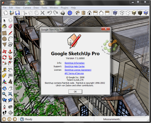 Google SketchUp Pro 7.1.6860 - Maintenance 2 (Last Update 13/01/2010) Sup7168601