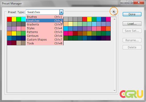 Photoshop - Adobe Photoshop ครับ Pspresetmange