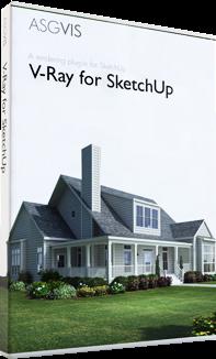 SketchUp - V-Ray for SketchUp 1.48.89 อัพเดตใหม่ไวขึ้นกว่าเดิม VfSU_v1