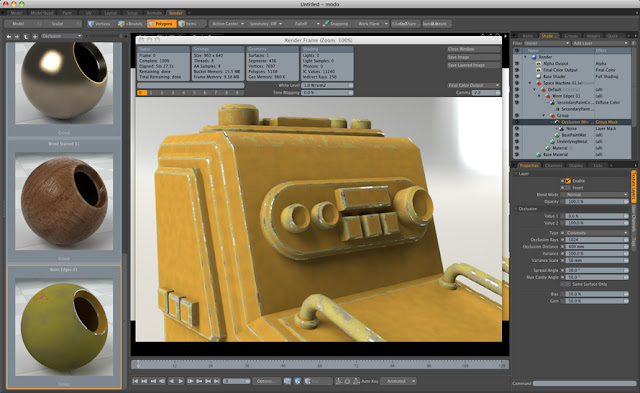animation - modo 501 Feature Tour 501sample_content_occlusion_material_890