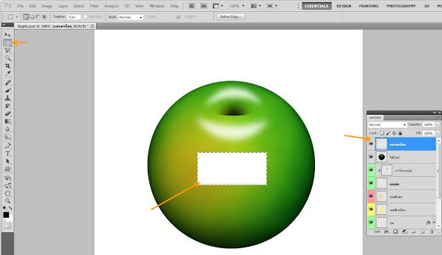 เทคนิคการวาดรูปแอบเปิ้ลสวยๆ Apple33