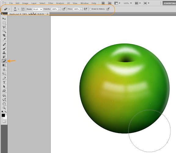 เทคนิคการวาดรูปแอบเปิ้ลสวยๆ Apple41