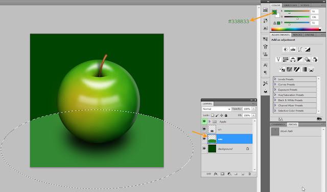 เทคนิคการวาดรูปแอบเปิ้ลสวยๆ Apple58